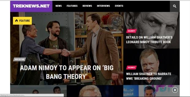 TrekNews Screenshot