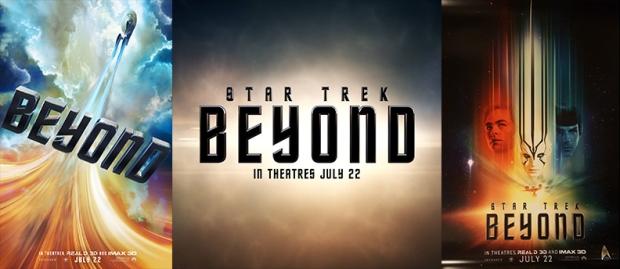 Star Trek Beyond Promotional Posters