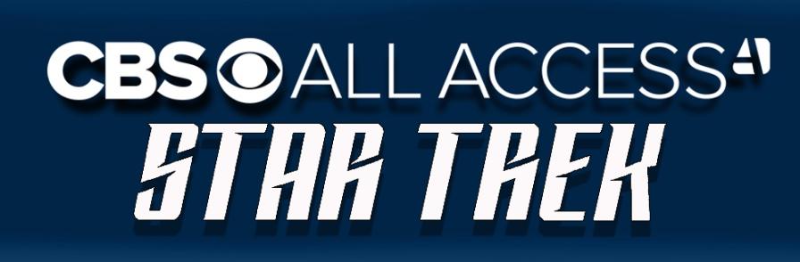 CBS All Access Logo and New Star Trek Logo