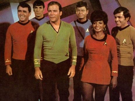 Star Trek The Original Series Crew Photo