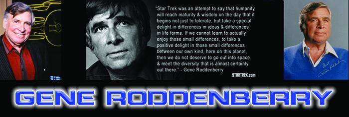 Gene Roddenberry Banner