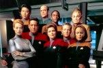 Star Trek Voyager Crew Photo
