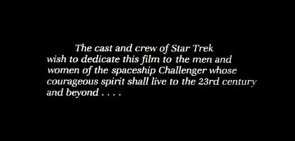 Remembering the Challenger - Star Trek IV