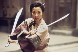 The 2000 Best Picture nominee ÒCrouching Tiger, Hidden DragonÓ will be screened on Monday, June 23, at 7:30 p.m. at the AcademyÕs Samuel Goldwyn Theater as the next feature in the Academy of Motion Picture Arts and SciencesÕ ÒGreat To Be NominatedÓ series. Ang LeeÕs thrilling action-adventure film pays homage to the martial arts fantasies of his youth with a story involving two master warriors, the Green Destiny sword, and a young aristocrat with enviable fighting prowess. Following the screening, visual effects supervisor Rob Hodgson will participate in a discussion about the film. Pictured: Michelle Yeoh in a scene from CROUCHING TIGER, HIDDEN DRAGON, 2000.