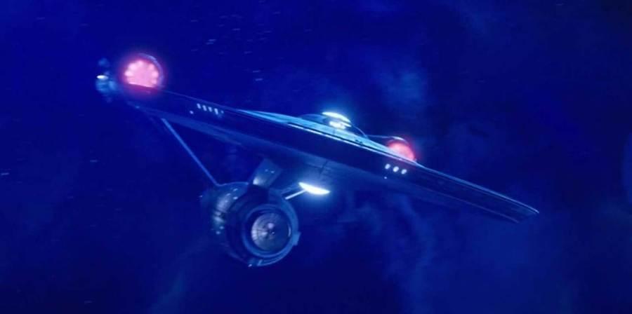 Disco S1E15 Enterprise NCC-1701 Approaches