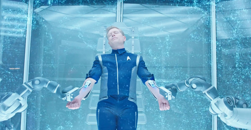 Stamets Connected to the Spore Drive