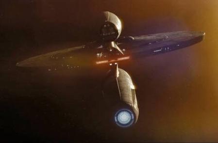 The USS Kelvin Exploring Deep Space