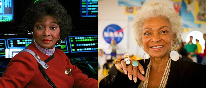 Uhura and Nichelle