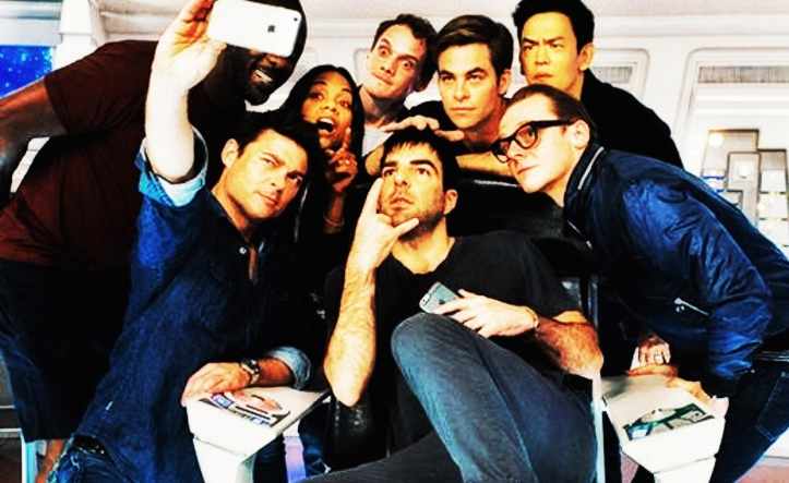 Star Trek Beyond Selfie