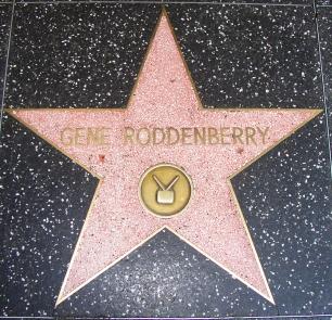 Gene Roddenberry Star - Hollywood Walk of Fame.