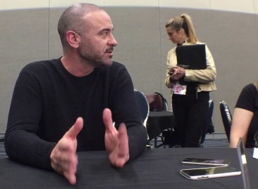 Alan Van Sprang at WonderCon 2018