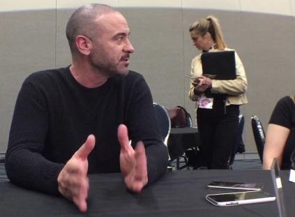 Alan Van Sprang at WonderCon 2018