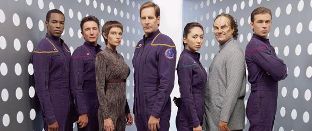 Star Trek Enterprise Crew Photo