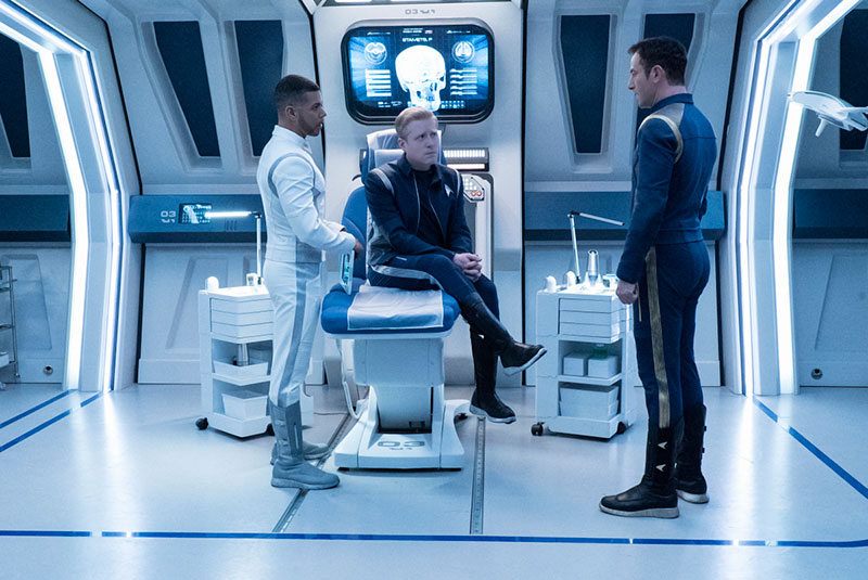 Doctor Culber Delivers Bad News to Stamets and Lorca