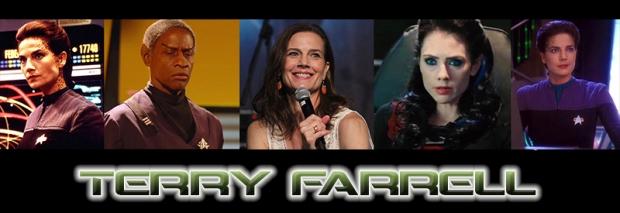 Terry Farrell Star Trek Renegades Banner