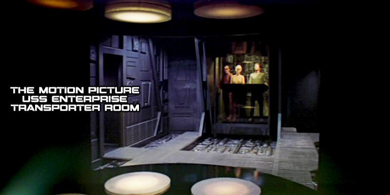 NCC1701 Kirk Era Refurbished Transporter Room