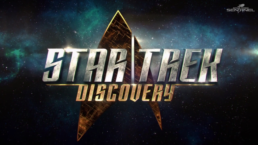 The new series logo - Star Trek: Discovery.