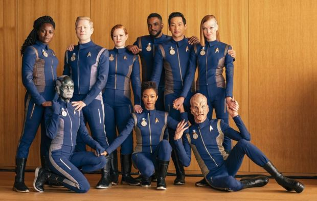 The Crew of the USS Discovery Season 1