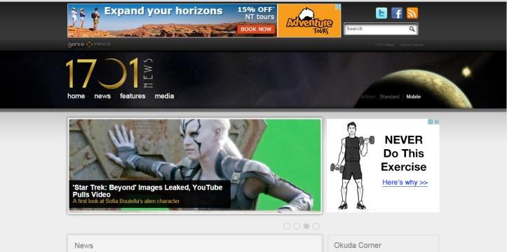 1701News Screenshot