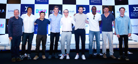 Star Trek Beyond Dubai Press Conference