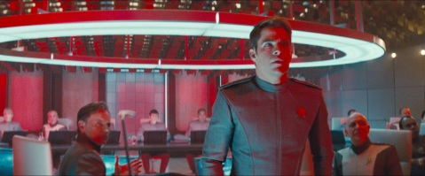 Kirk realises what Khan is up to - Star Trek Into Darkness.