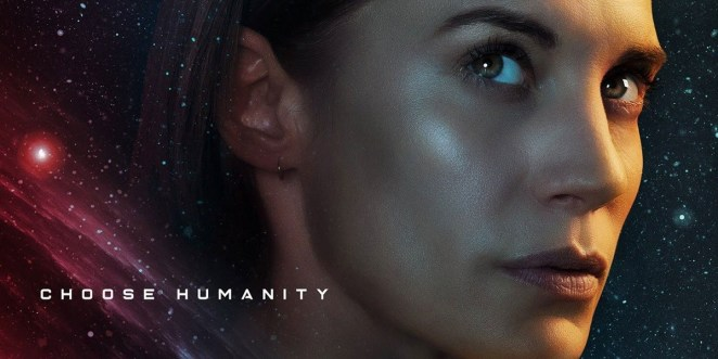 Katee Sackhoff - Choose Humanity Poster, Another Life
