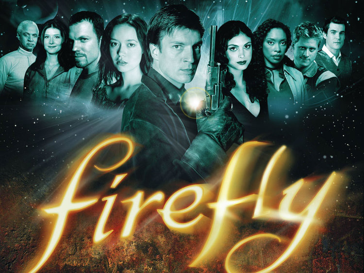 Firefly Promotional Image - Full Cast