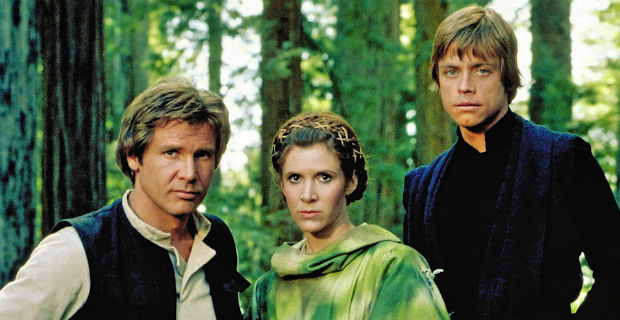 Han, Leia and Luke - SWROTJ