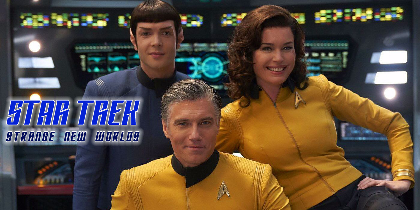Star Trek Strange New Worlds Media Release Banner