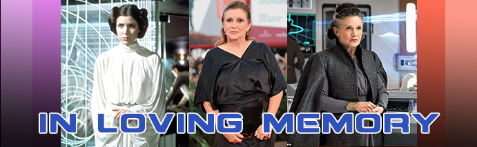Carrie Fisher Banner 2020